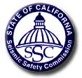 California Seismic Safety Commission logo
