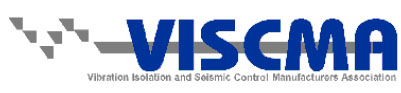 Vibration Isolation and Seismic Control Manufacturers Association (VISCMA) logo